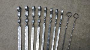 Шампур простой 500*6*3 мм.