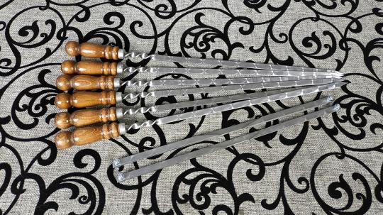 Набор шампуров Ашарик + мангал