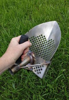 Скуп для поиска серия PRO заостреный нержавеющая сталь отв. 8,7 мм.