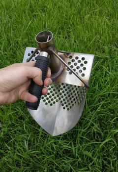 Скуп для поиска серия PRO Нержавеющая сталь отв. 9 мм.