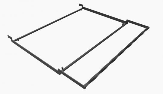 Чугунная решетка гриль 32*57 см