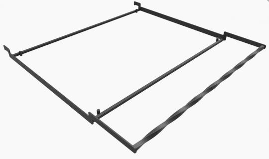 Чугунная решетка гриль 49*79 см