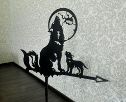 Флюгер Волки