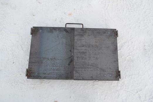 Мангал чемодан 500*300*170 сталь 2 мм.