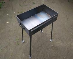 Мангал 550*350*150 - сталь 3мм. без короба