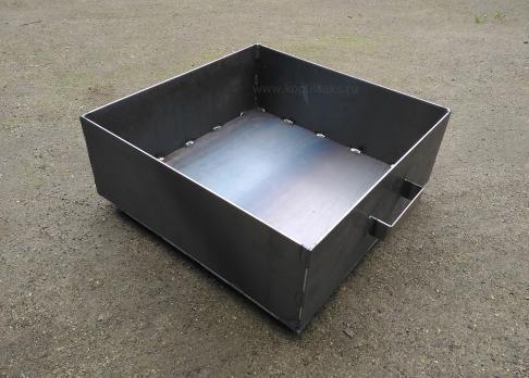 Мангал 400*400*150 - сталь 3мм. без короба