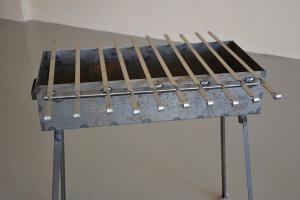 Мангал 700*300*150 - сталь 3мм. без короба