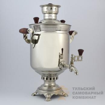 Самовар жаровой (угольный) 5 л. Тульский