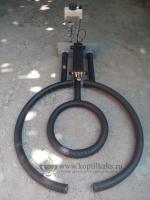 Газовая горелка для тандыра 80 см.