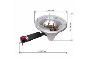 Горелка газовая Wolmex 18 кВт 12TL-01