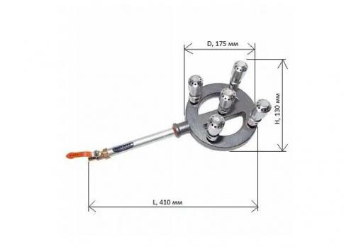 Форсунка горелки Wolmex 15 кВт 5TL-01