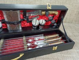 Набор шампуров большой М3 Звери литье