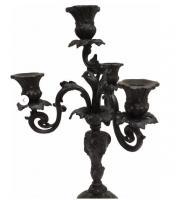Каслинское литье Скульптура подсвечник «4-х рожковый»