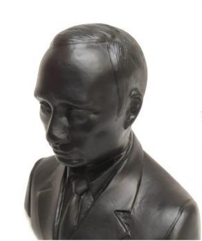 Каслинское литье бюст «Путин В.В.