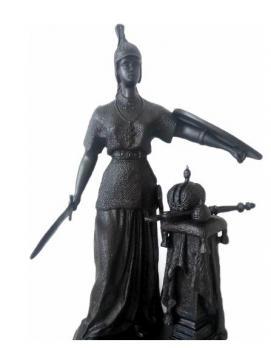 Каслинское литье скульптура Россия Касли м/р