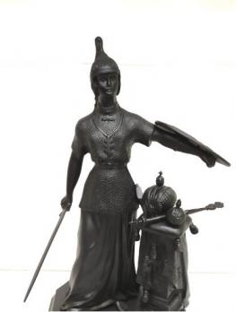 Каслинское литье скульптура Россия Касли б/р
