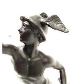 Каслинское литье скульптура Меркурий б/р