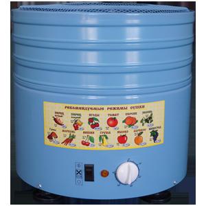 Сушилка овощей и фруктов СУ-1М (15 литров)