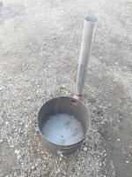 Очаг под казан простой 470 мм. с трубой