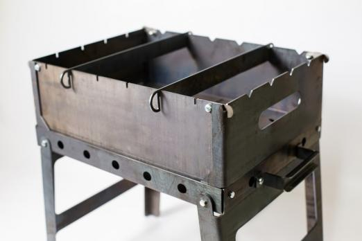 Мангал складной S(6) сталь
