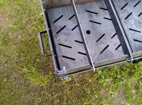 Мангал складной L(10) сталь