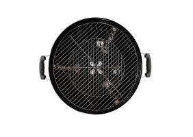Угольный гриль Premium 46 GoGarden с термометром черный