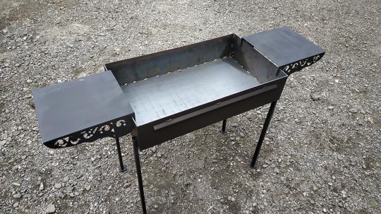 Мангал 700*350*150 - сталь 3мм. без короба