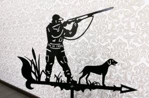 Флюгер охотник