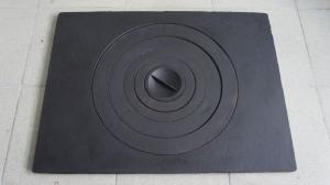 Плита чугунная под казан 705х530 мм. П1-5