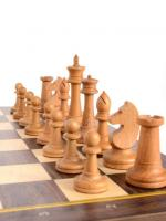 Шахматы складные бук, 50 мм с утяж.фиг.