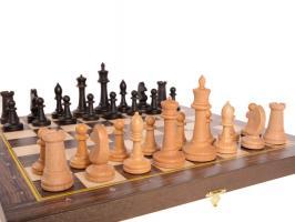 Шахматы складные бук, 40 мм с утяж.фиг.